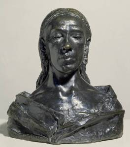 Nan 1909 by Sir Jacob Epstein 1880-1959